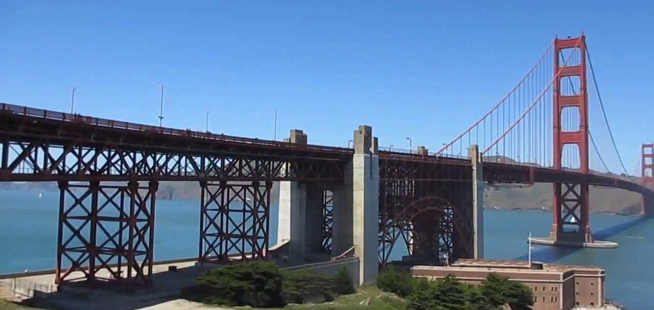 San Francisco Golden Gate RV Boondocking