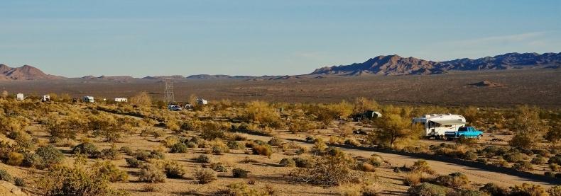 Desert RV Boondocking