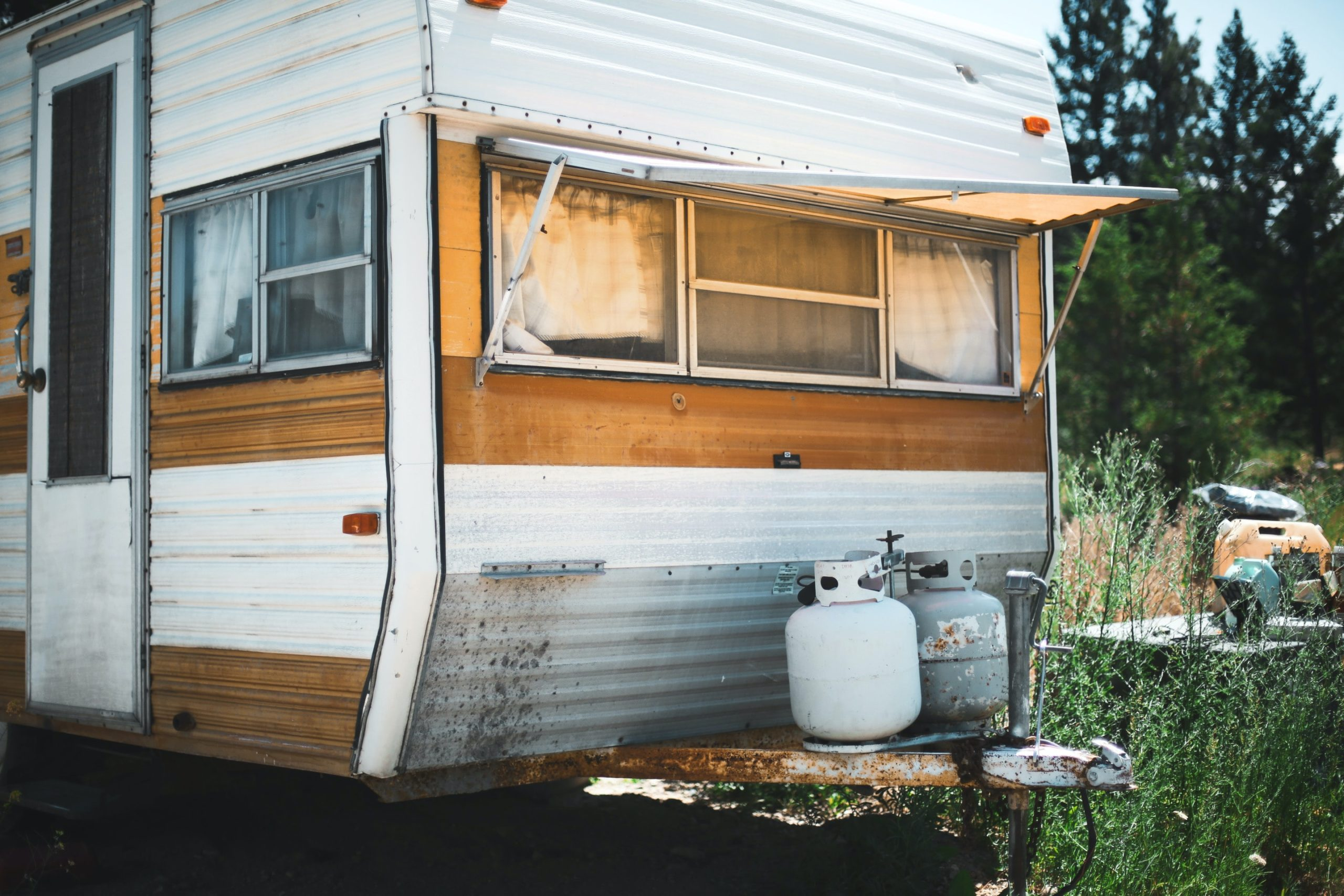 travel trailer propane